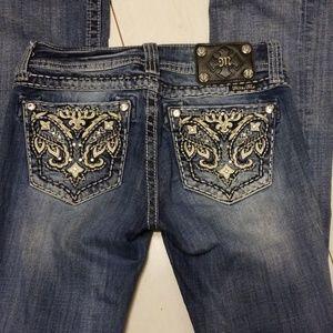 Miss Me jeans boot cut women's size 27×31